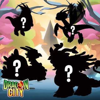 imagen de los dragones estaciones del evento especial de dragon city