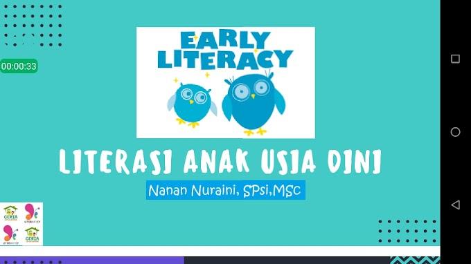 Ajak Anak Melek Literasi Yuk!