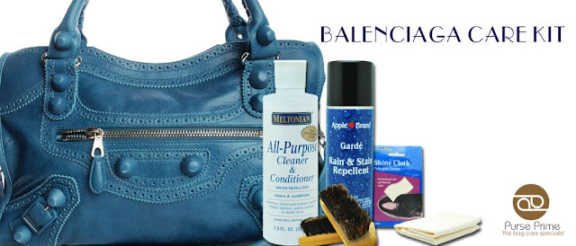 Get A Balenciaga Care Kit For Your Motorcycle Bag