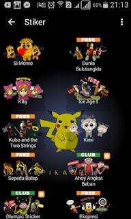 BBM MOD Pikachu v3.0.0.18 APK Terbaru 2016