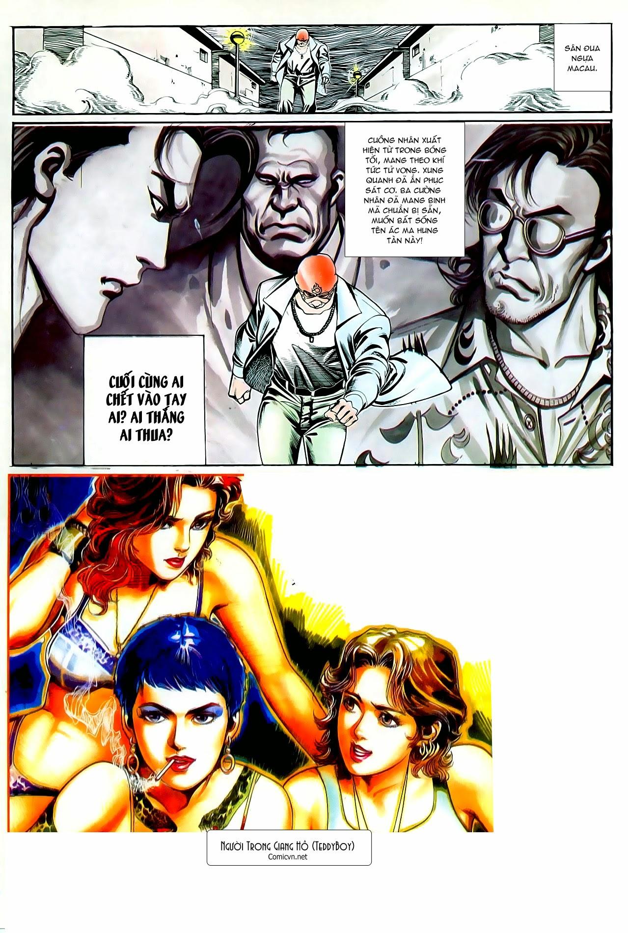 Người Trong Giang Hồ chapter 94: hoàng giả chi phong trang 30
