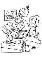רופא שיניים לצביעה
