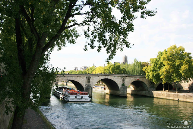 My Travel Background : #ParisPromenade : l'île Saint-Louis, le Pont Marie