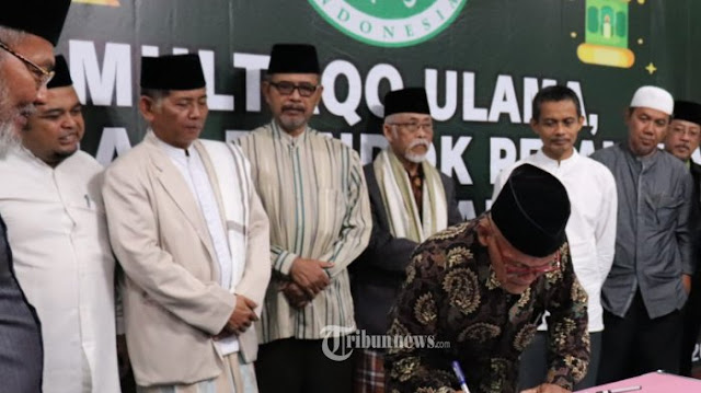 Tak Baik Untuk Agama dan Negara, Multaqo Ulama Ciamis Tolak People Power