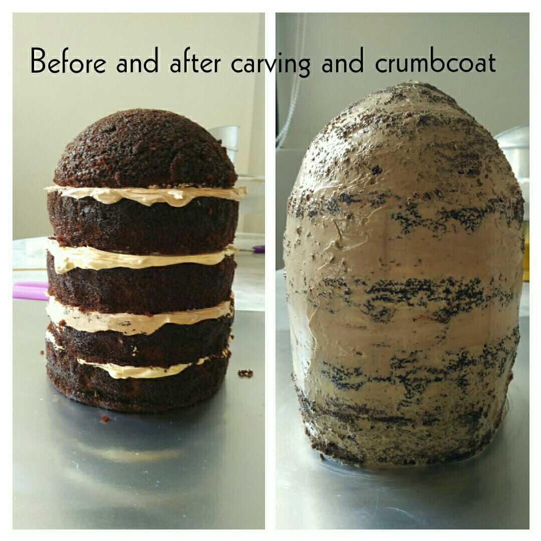 3D Jurassic Dinosaur Egg Cake TwinnieFoods