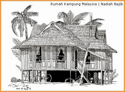 Gambar Rumah Adat Aceh Hitam Putih Rumah Adat Indonesia