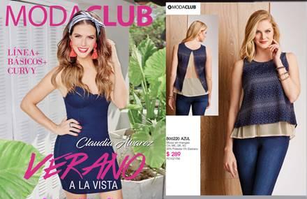 Moda club catalogo ropa para damas V-17