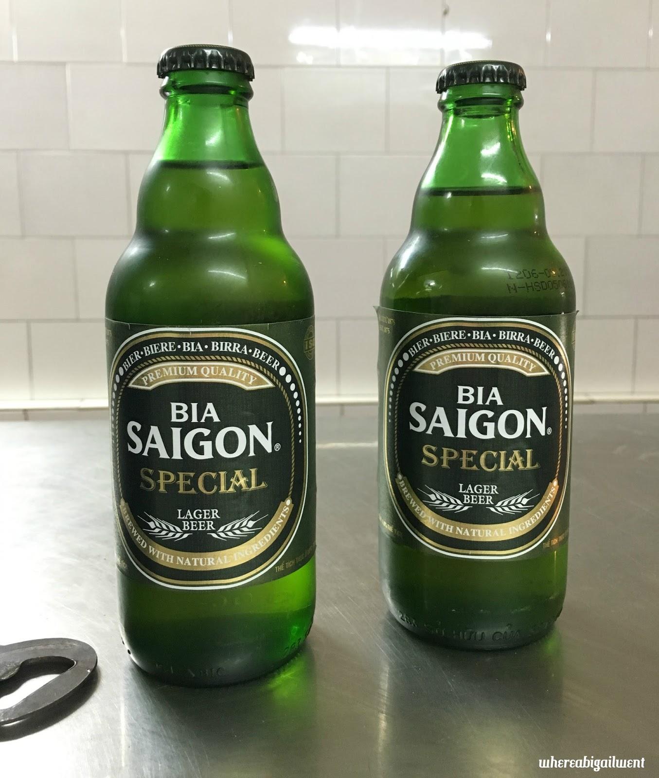 Bia Saigon is Vietnam's better beer