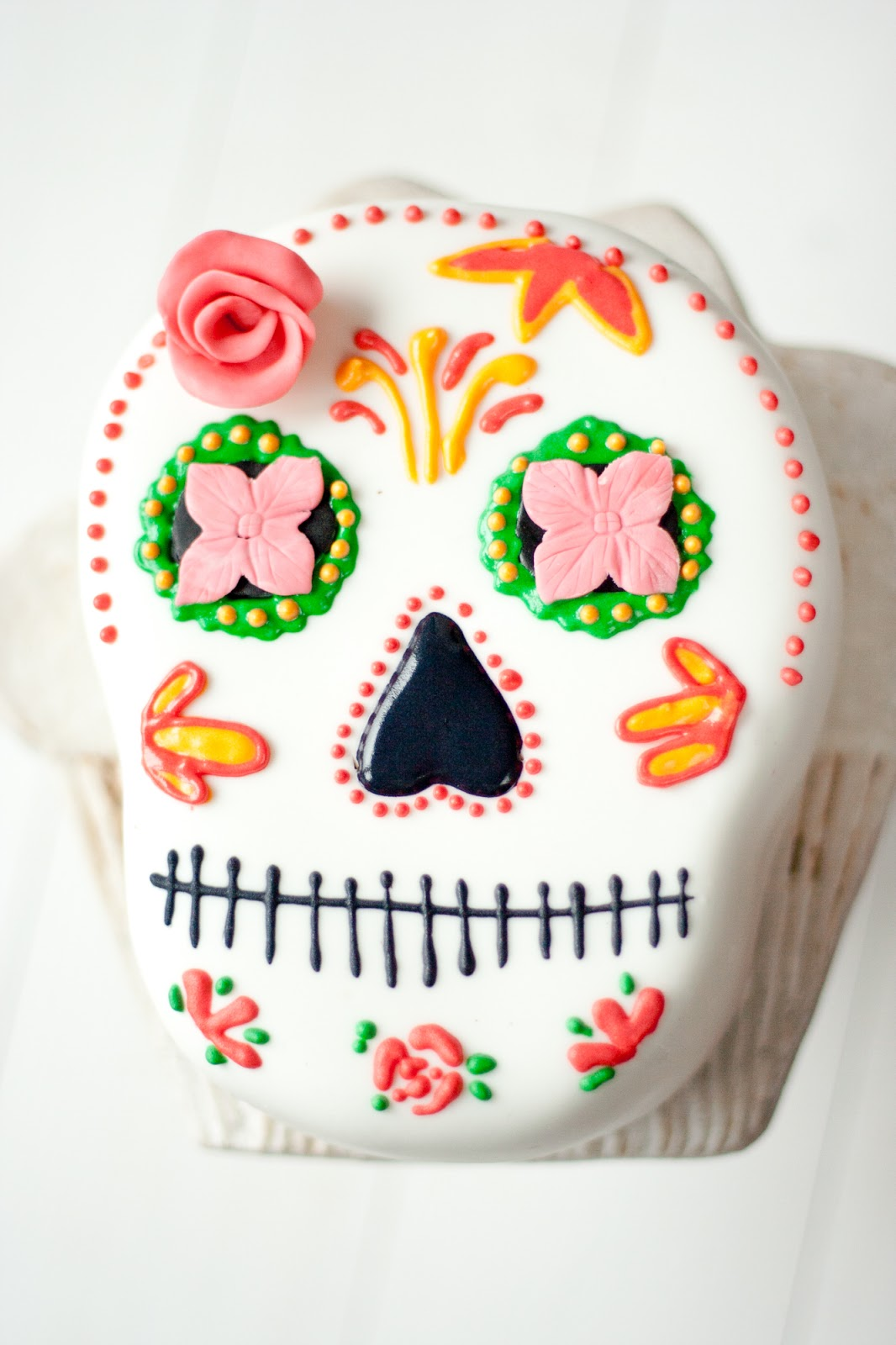 Halloween Cupcakes La Cocina De Carolina Tarta De Calavera Mexicana