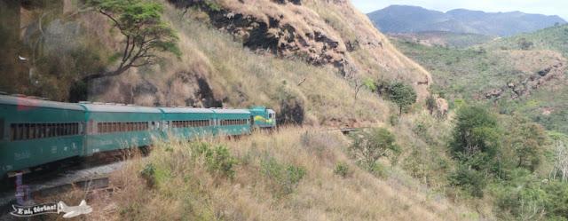 Trem da Vale, Ouro Preto a Mariana, Minas Gerais.