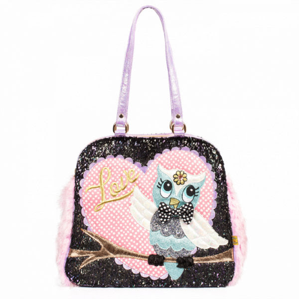 Irregular Choice what a hoot bag