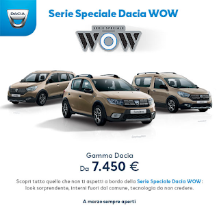 Dacia Sandero. Da 7.450 euro