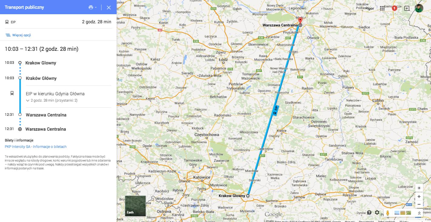 Blog Google Polska Zaplanuj Podróż Pociągiem Na Mapach Google