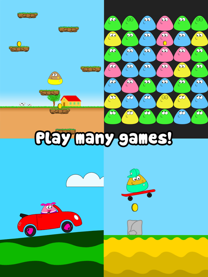 Download Game Pou for Android via Google Play Store