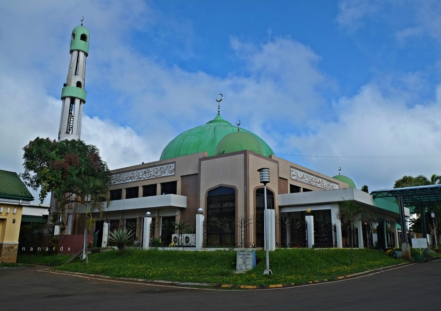 The Capitol Mosque is located within the Lanao Del Sur Provincial Capitol Complex
