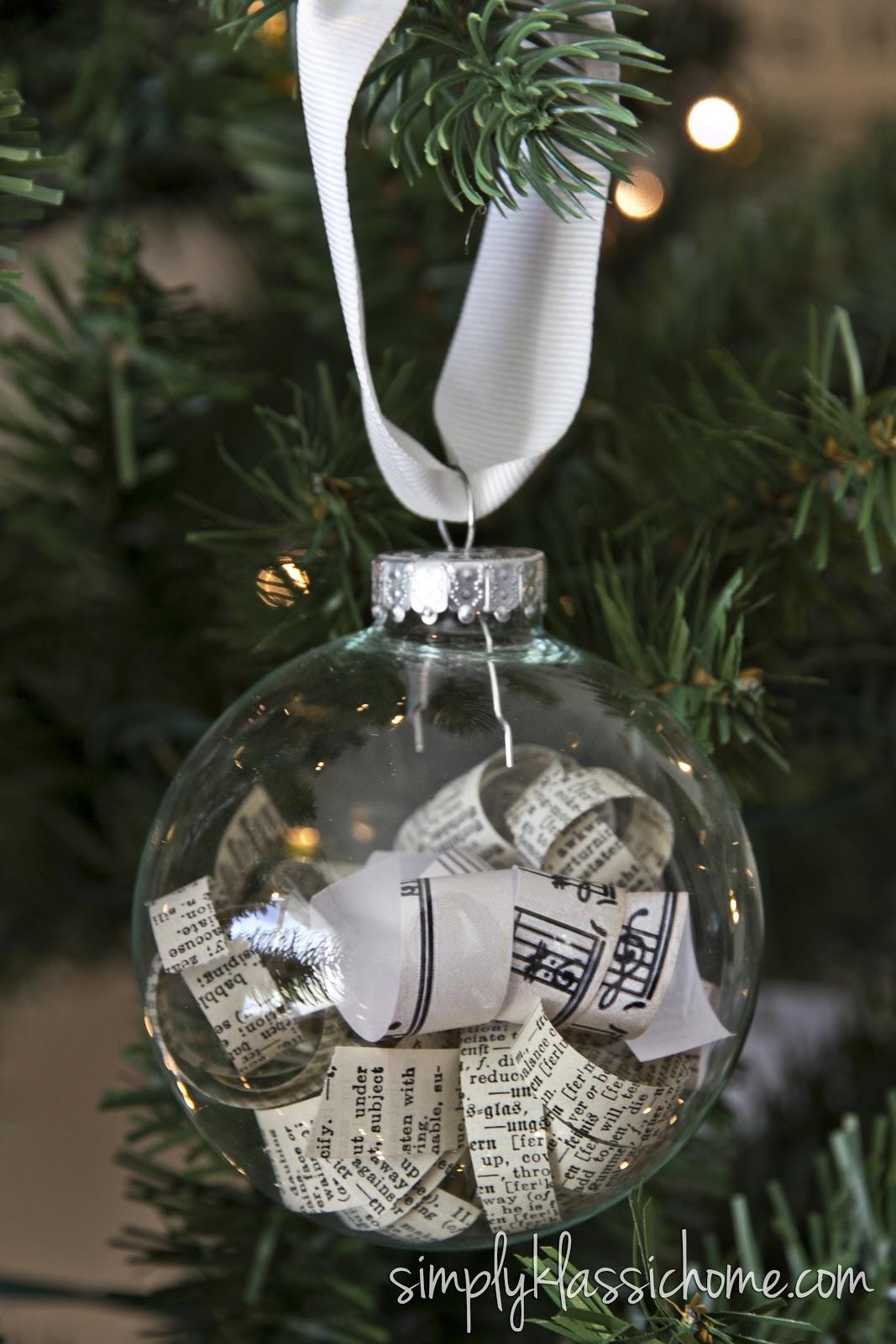 clear christmas ball ornaments