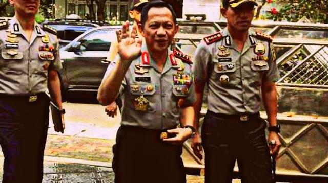 Tito Karnavian Blusukan ke Kampung Tambaklorok