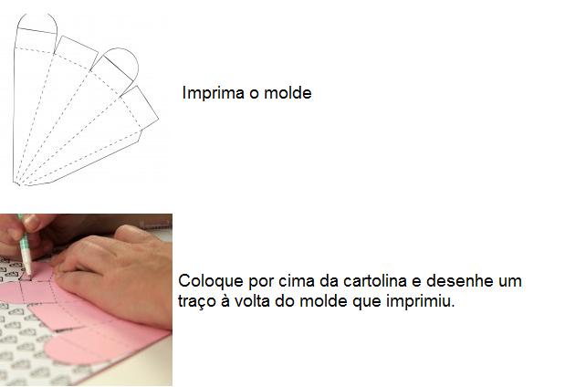 cone+5 - Como fazer cone para arroz/ pétalas