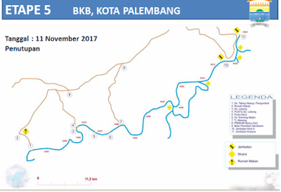 RUTE ETAPE International Musi Triboatton November 2017