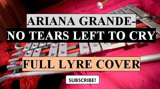 Lyre Chordsnotes Ariana Grande No Tears Left To Cry Lyre Chords
