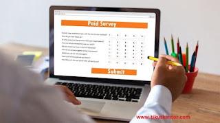 Mendapatkan Uang di Internet dari Survei Online