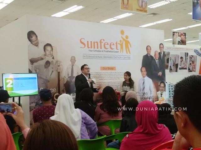 PELIHARA KAKI ANDA DENGAN SUNFEET MALAYSIA