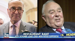 Schumer Goes Off On Trump Supporter At NYC Restaurant, Witness Says