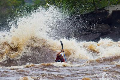 INGA RAPIDS, CONGO RIVER