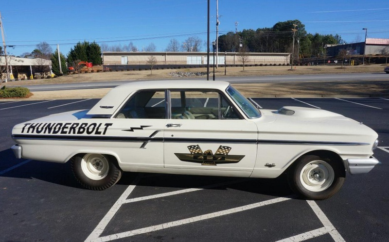 MUSCLE CAR COLLECTION : Ford Fairlane Thunderbolt American