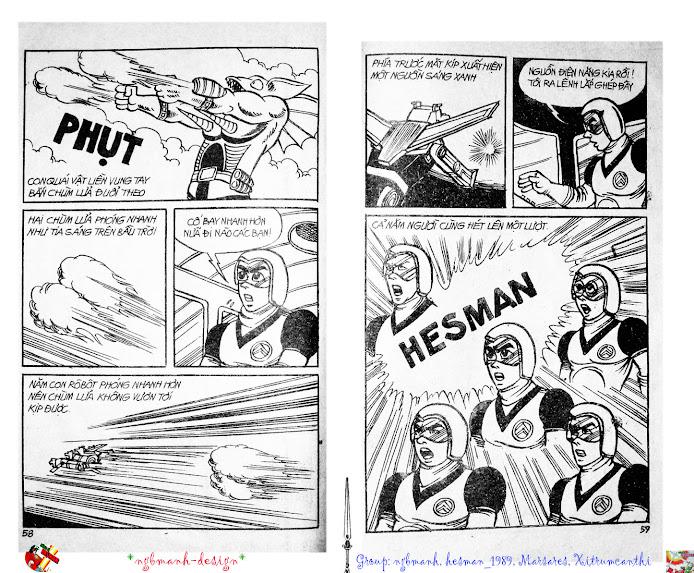 Dũng Sĩ Hesman tập 2 - hesman xuất hiện trang 31