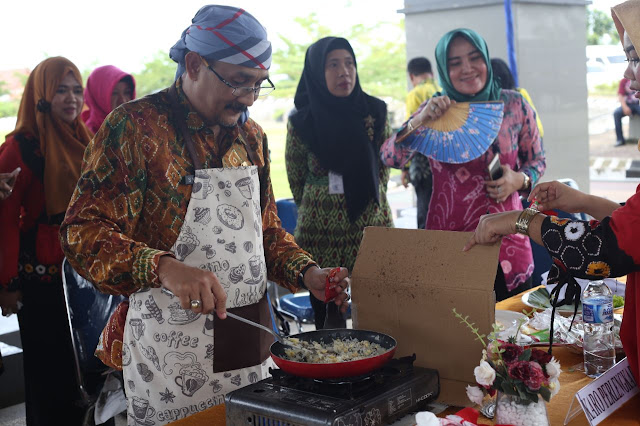 Lomba Masak Nasi Goreng DWP, Bukti Cinta dan Sayang Kepada Isteri