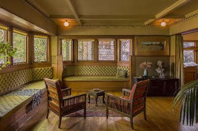 Living Room. Photograph: James Caulfield