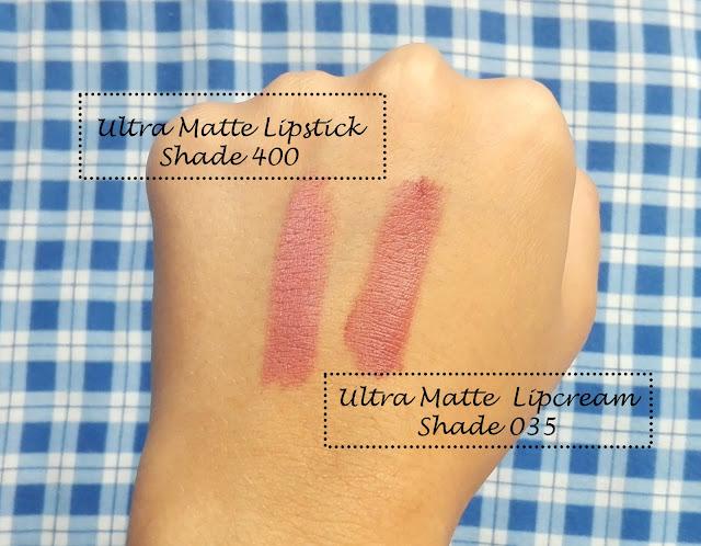 Trend It Up Ultra Matte Lipstick & Lipcream - swatch