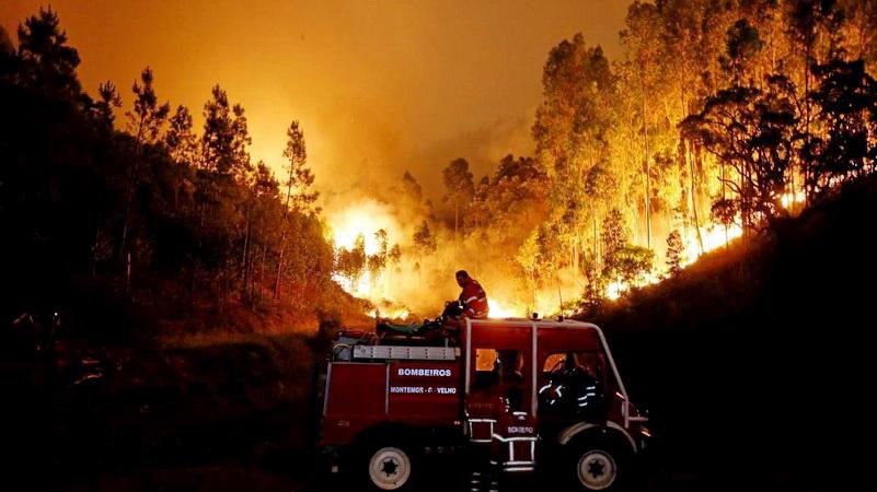 Φονική πυρκαγιά στην Πορτογαλία