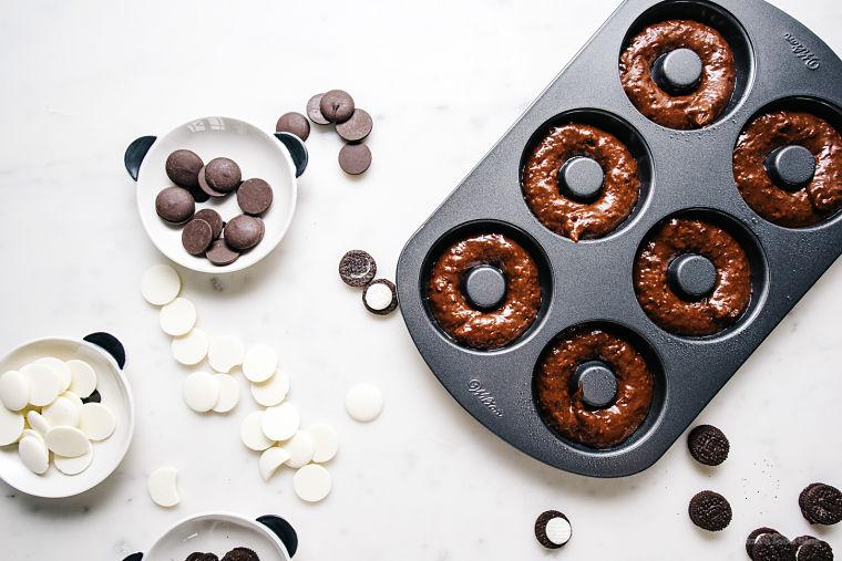 PUNTXET Rosquillas panda con doble chocolate #receta #recipe #sweet #dulces