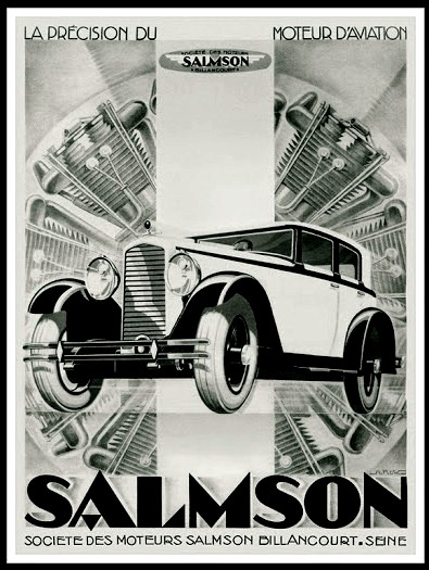 Club5a la saga des marques auto les automobiles salmson - Comptoir auto carcassonne ...