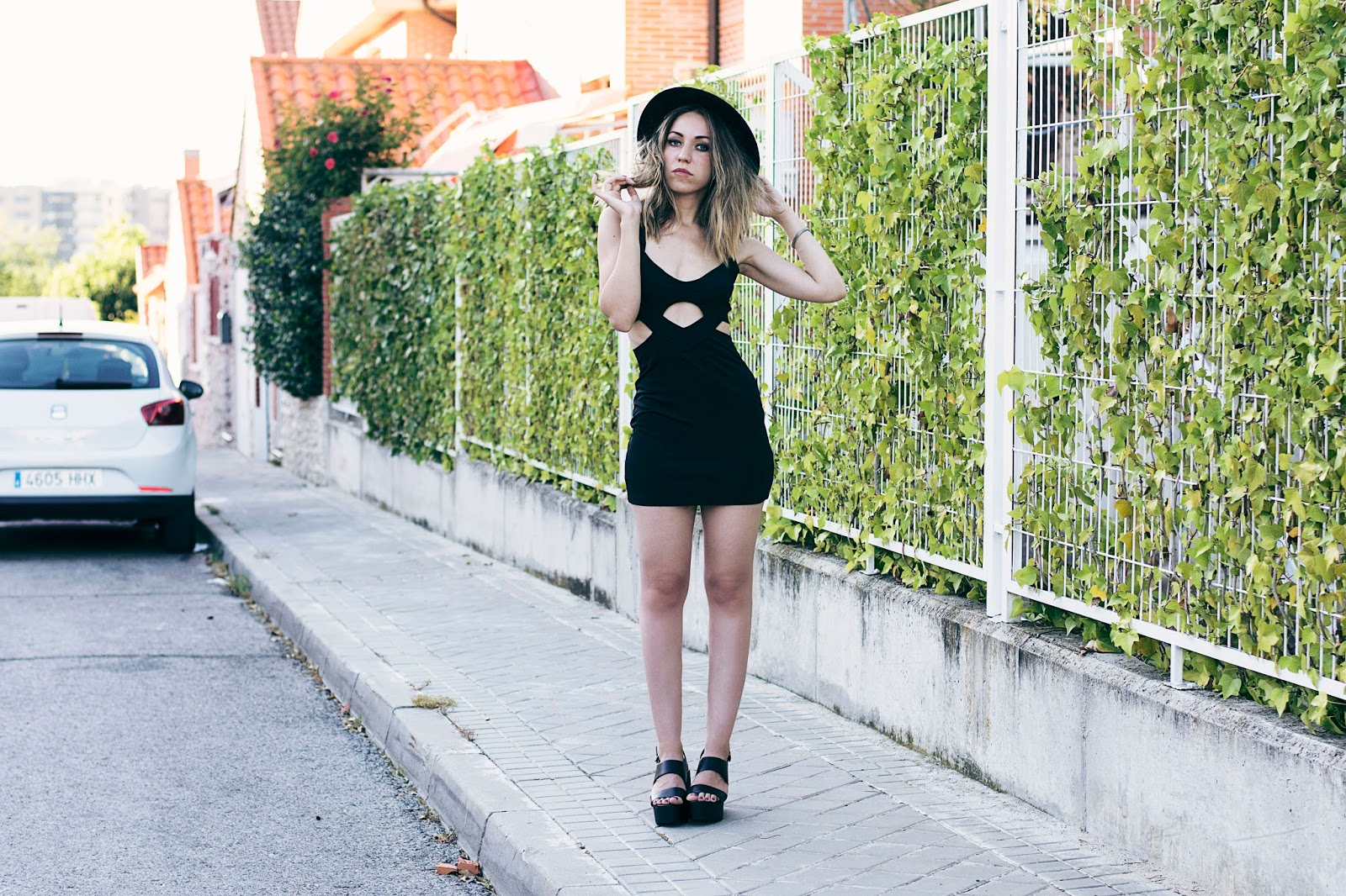 black dress for summer