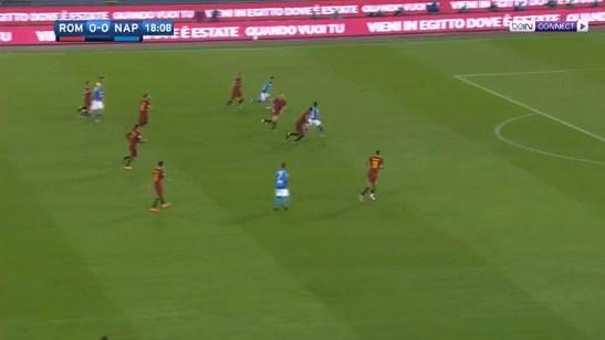 فيديو : روما يخسر من نابولي بهدف نظيف السبت 14-10-2017 الدوري الايطالي