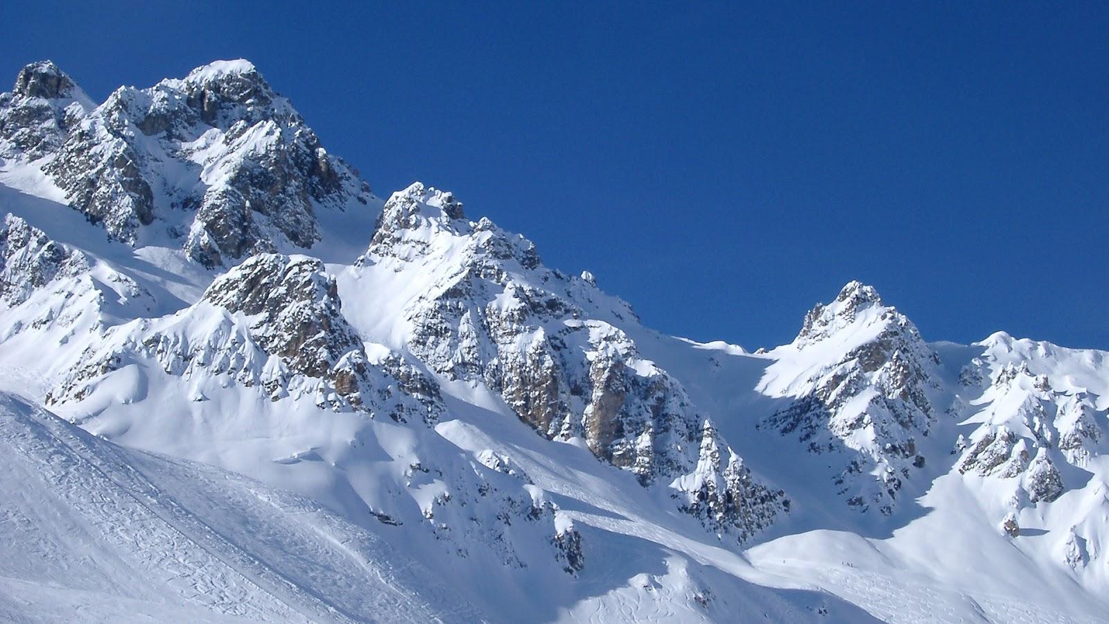 Fondo Escritorio Paisaje Montaña Nevada: Fondo De Pantalla Paisajes Montaña Completamente Nevada
