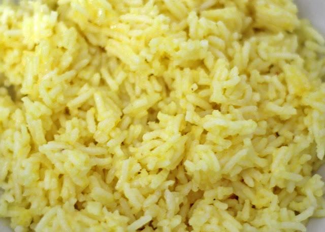 Ρύζι basmati με κοτόπουλο και πορτοκάλι / Basmati rice with orange and chicken