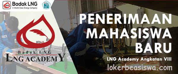 Beasiswa Penuh D3 LNG ACADEMY