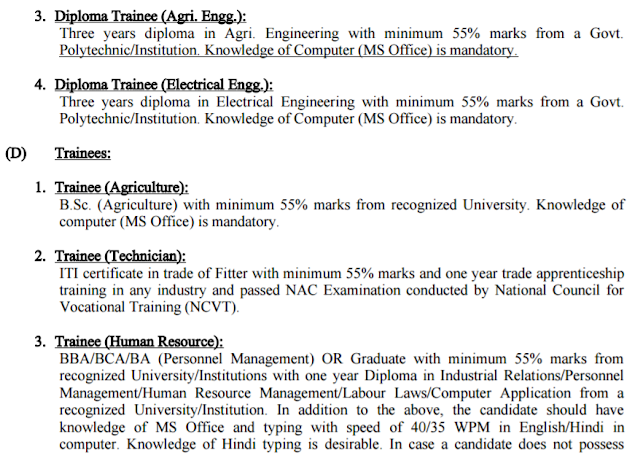 National Seeds Corporation Recruitment 2017 indiaseeds.com
