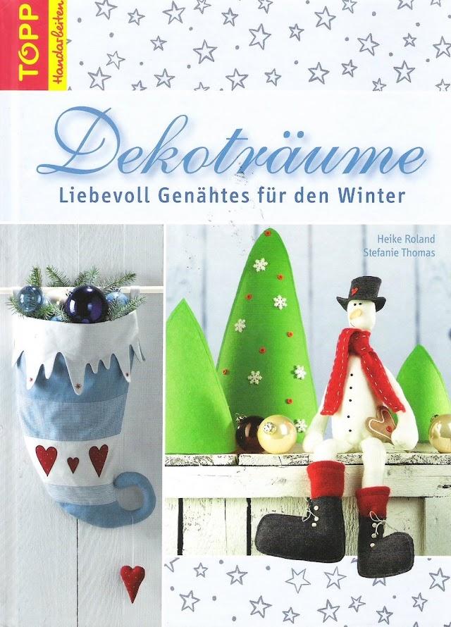 Revista Dekotraume Decoração De Natal Moldes