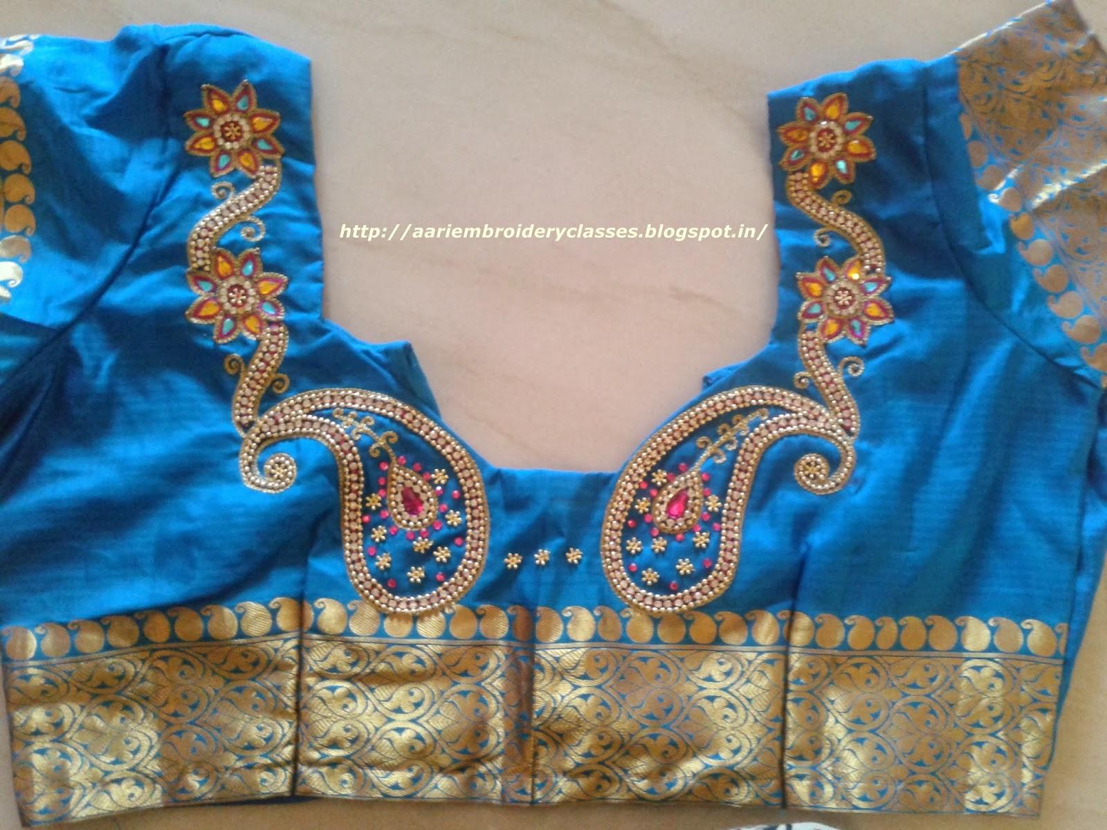 Aari Work Blouse Designs Latest Rldm