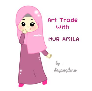 Art Trade With Nur AMila