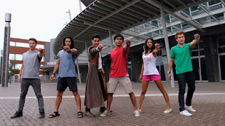 The cast of Power Rangers Dino Charge