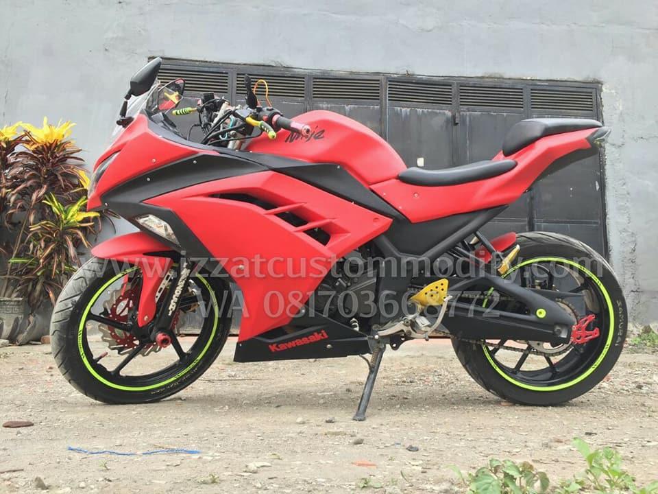 Fullset Bodykit Fairing Byson Replika Ninja 250fi Izzat Custom Modify