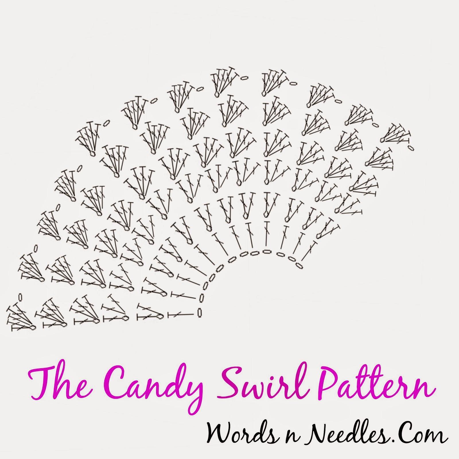 Candy Swirl Crochet Hat Pattern