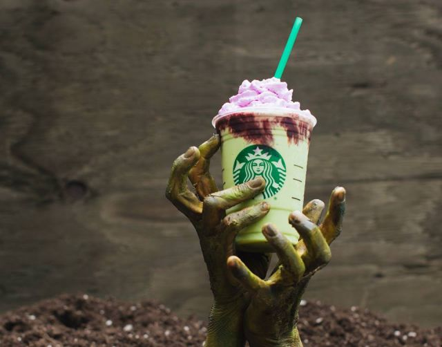 Starbucks Debuts New Zombie Frappuccino for Halloween 2017 | Brand ...