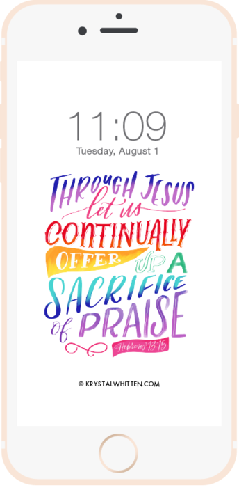 bible verse lock screens
